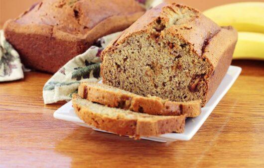 Simple Healthy Banana Bread Recipe