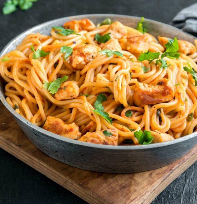 healthy chicken spaghetti recipe