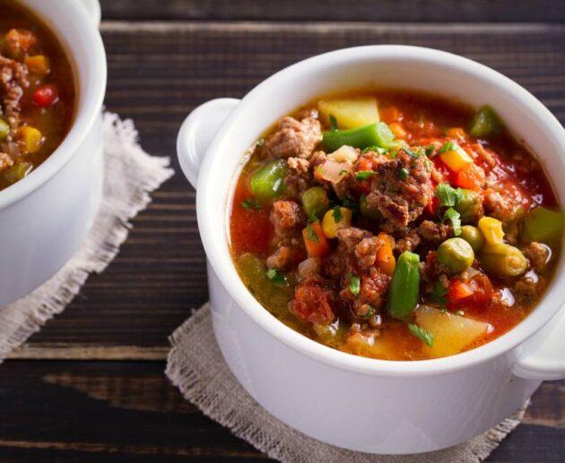 best hamburger soup recipe