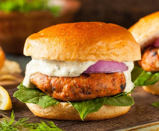 best salmon burger recipe