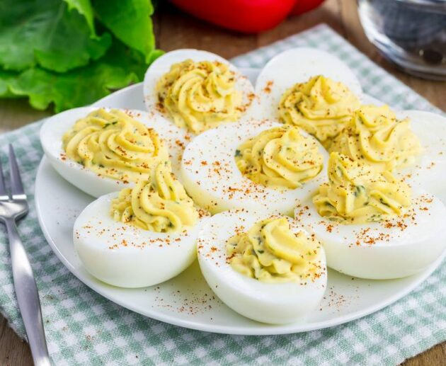 simple deviled eggs recipe