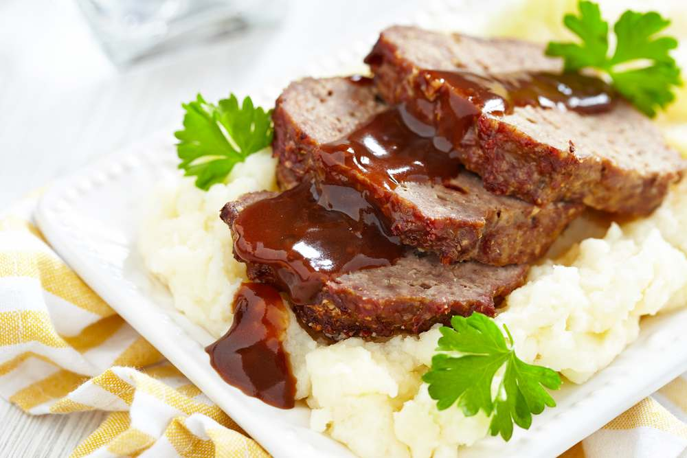 meatloaf recipe with brown gravy
