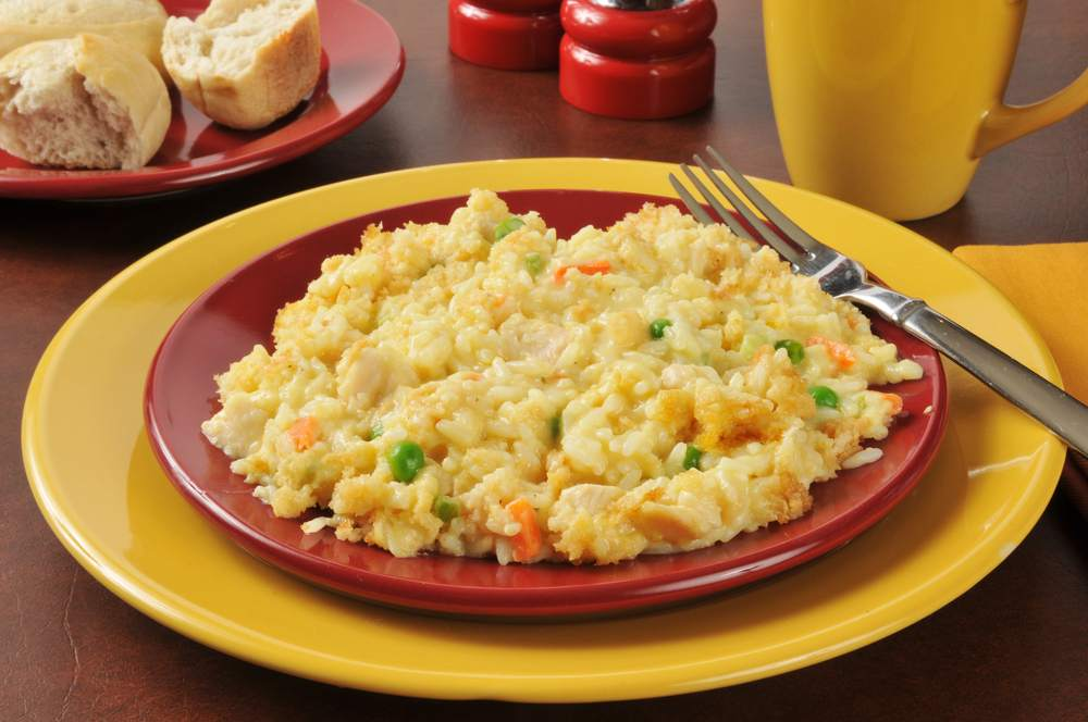 canned chicken casserole with rice