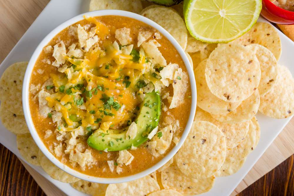 canned chicken enchilada soup