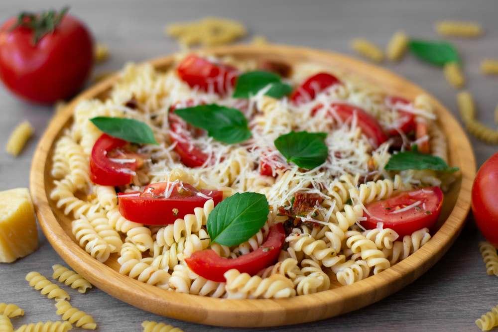 garden rotini pasta salad recipe