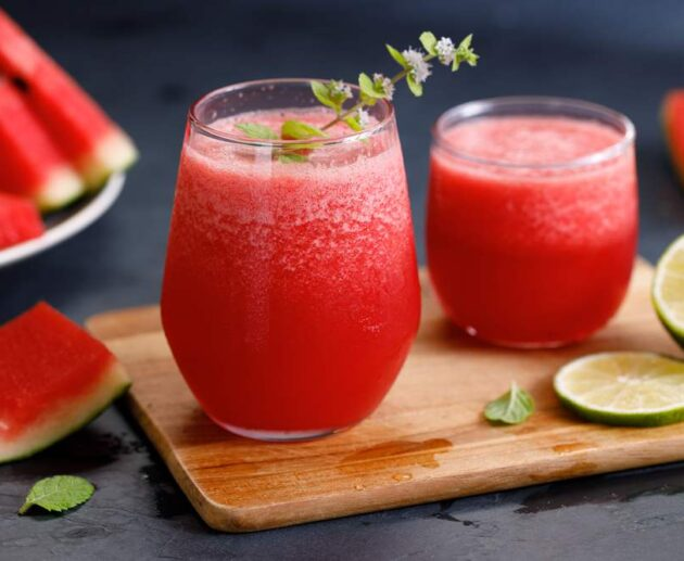 how to make a watermelon smoothie