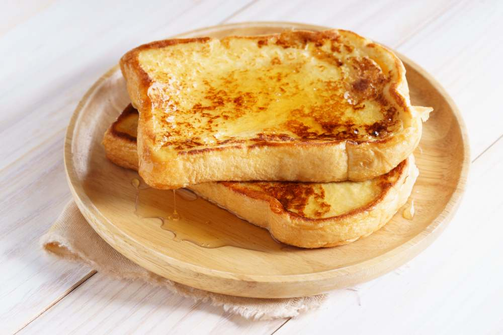 how to make french toast without eggs