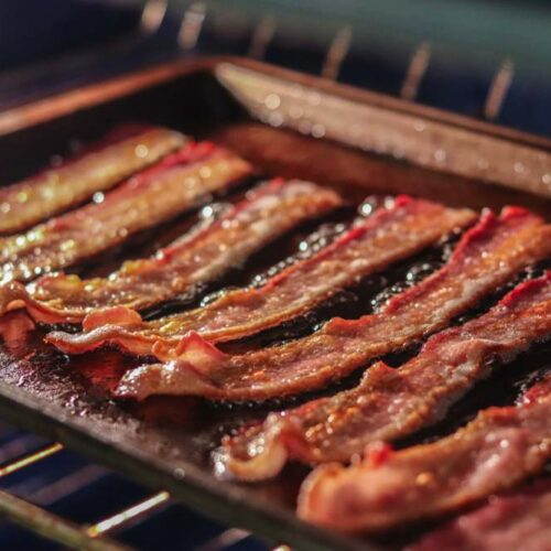 how to cook turkey bacon in the oven