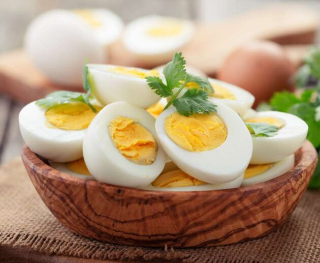 how to make hard boiled eggs in microwave