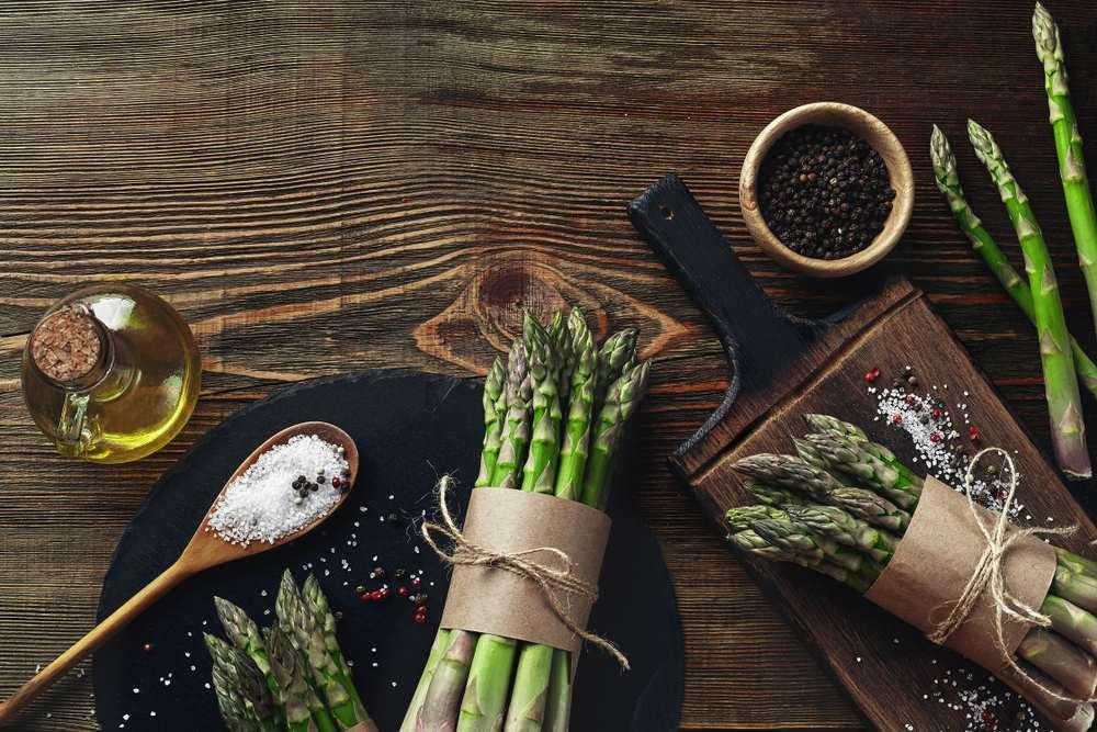 asparagus in microwave