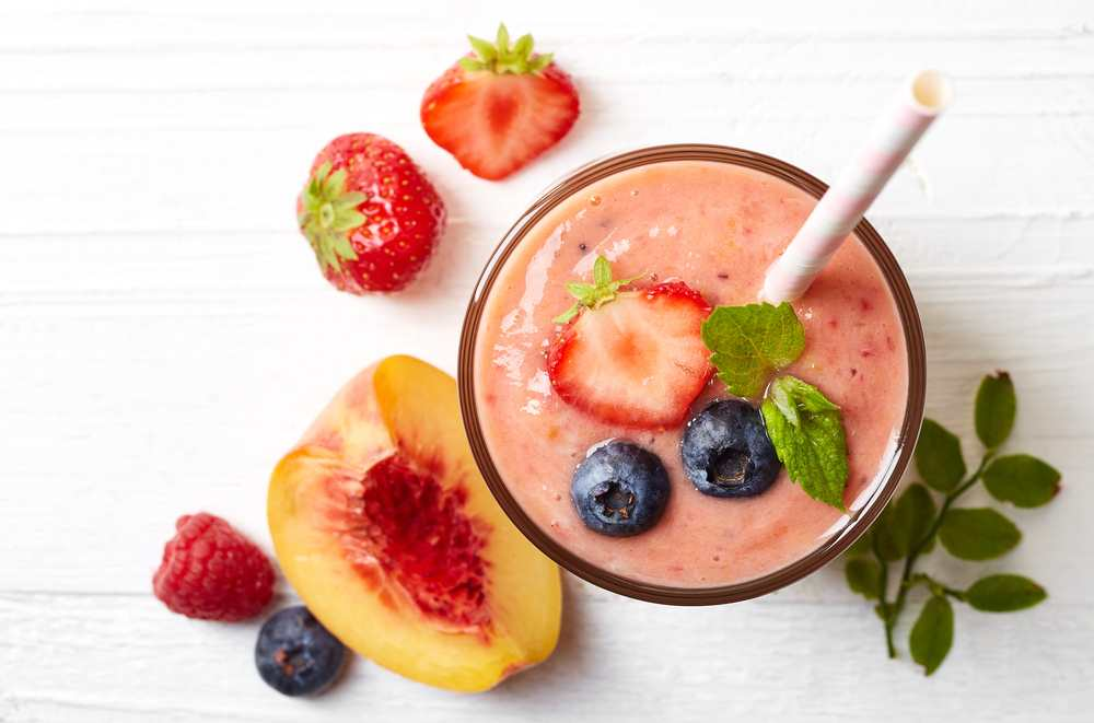 thick berries smoothie