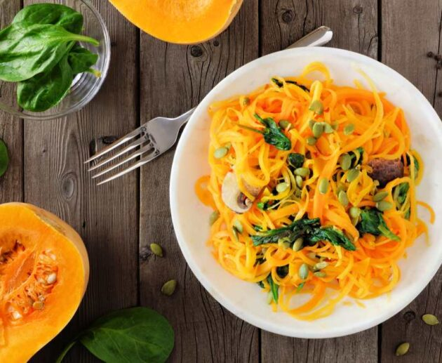 how to cook butternut squash noodles