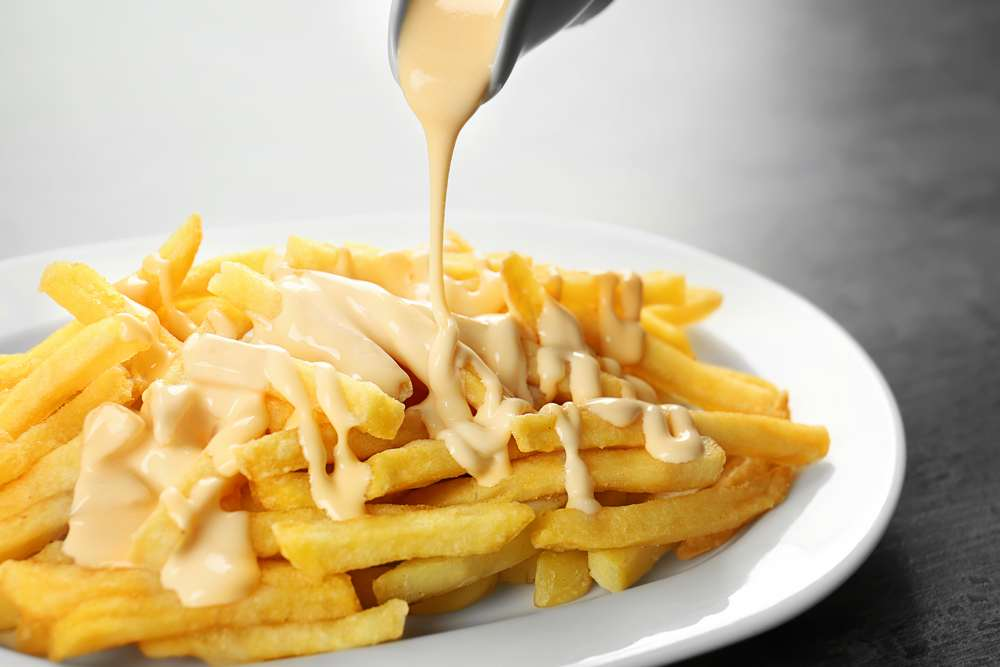 how to make cheese sauce for fries