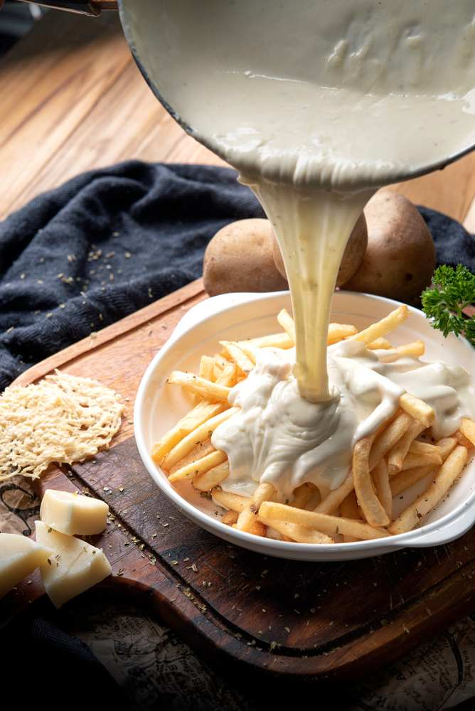 cheese sauce without flour
