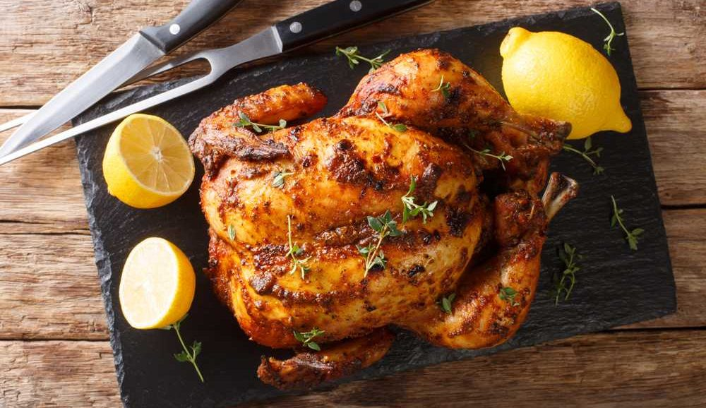 how long can cooked chicken sit out