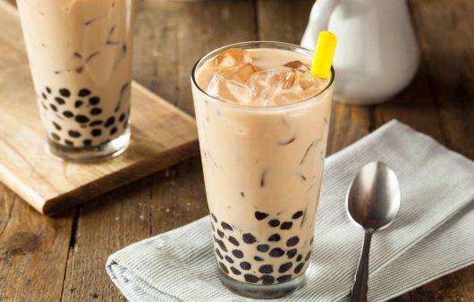 almond milk tea recipe